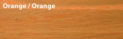 Тонировка паркета оранжевый (orange)