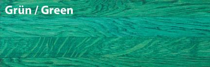 Тонировка паркета зеленый green